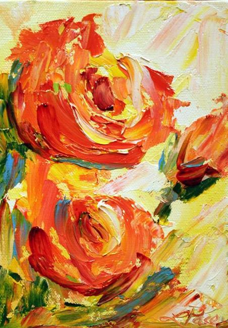 Art: rose by Artist Laurie Justus Pace