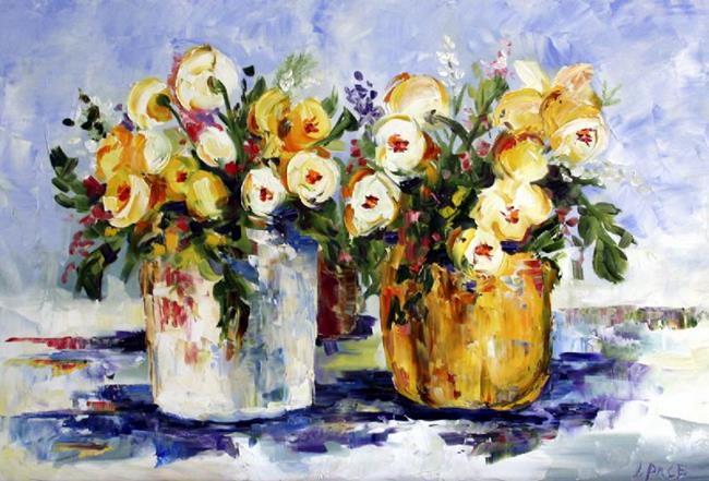 Art: Daffodils by Artist Laurie Justus Pace