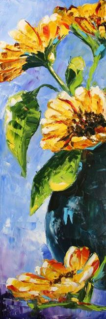 Art: Afternoon Sunflowers by Artist Laurie Justus Pace