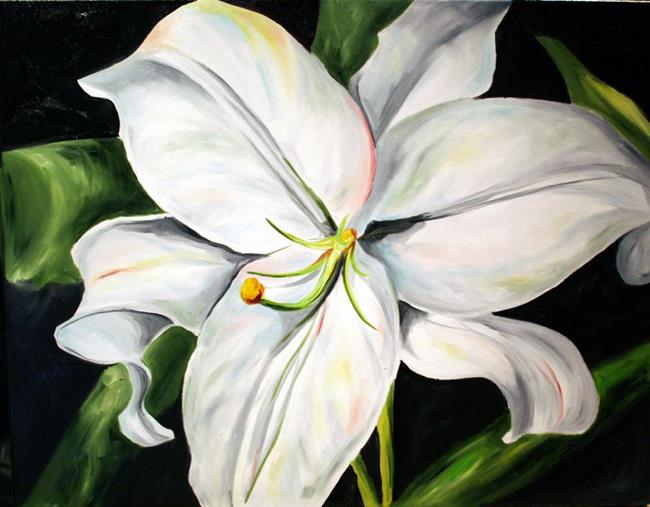 Art: Shawne's Lily by Artist Laurie Justus Pace