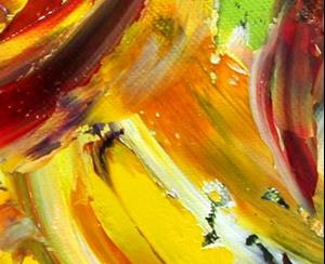 Detail Image for art Fall Sunflower Abstract