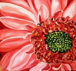 Art: Daisy Daisy Pink by Artist Laurie Justus Pace