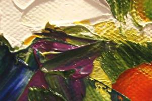 Detail Image for art Spring Showers Third in the Series of Backyard Blooms
