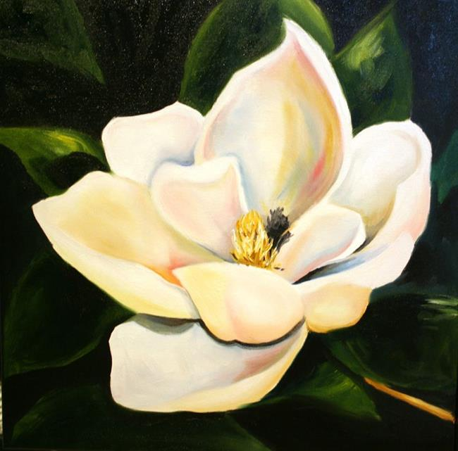 Art: Magnolia Single A by Artist Laurie Justus Pace