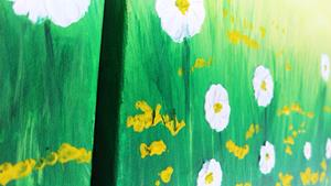 Detail Image for art BUTTERCUPS AND DAISIES