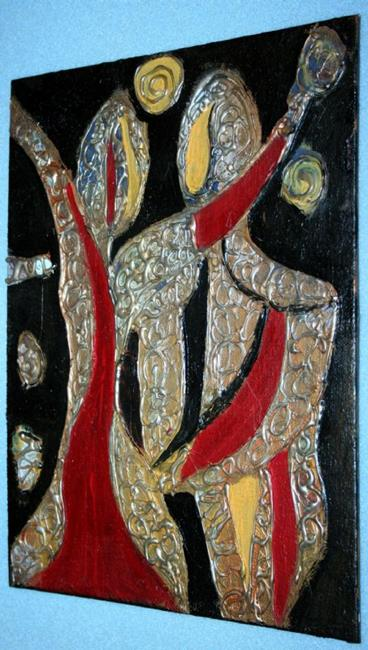 Art: DANCING-sold by Artist LUIZA VIZOLI
