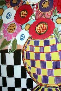 Detail Image for art BEAUTIFUL BOUQUET IN A VASE-sold