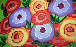 Detail Image for art FRESH FLOWERS-sold