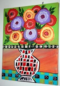 Detail Image for art FRESH FLOWERS-sold