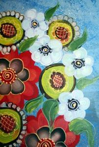 Detail Image for art WINTER BOUQUET-sold