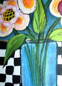 Detail Image for art SPRING FLOWERS-sold