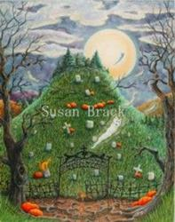 Art: NINE LIVES CEMETERY by Artist Susan Brack
