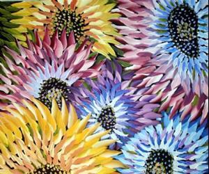 Detail Image for art SUMMER FLOWERS-sold