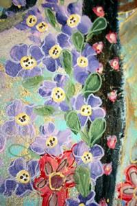 Detail Image for art FLOWERS' ANGEL-sold