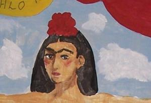 Detail Image for art Frida in the Clouds