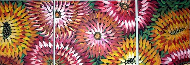 Art: CACTUS FLOWERS-sold by Artist LUIZA VIZOLI