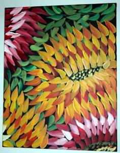 Detail Image for art CACTUS FLOWERS-sold