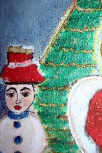 Detail Image for art ANGEL FOR CHRISTMAS-sold