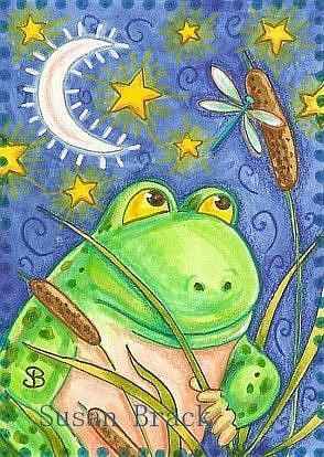 Art: DRAGONFLY SURVEILLANCE by Artist Susan Brack