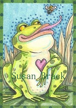 Art: LUNCH HAS ARRIVED by Artist Susan Brack