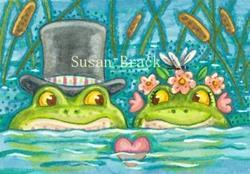 Art: SINK OR SWIM by Artist Susan Brack