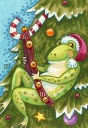 Art: JINGLE BELL SWING by Artist Susan Brack