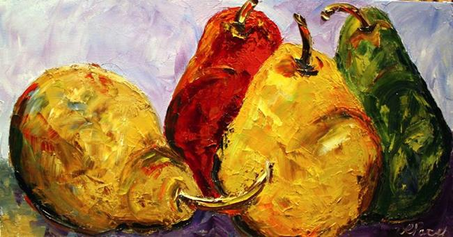 Art: Pears 13 by Artist Laurie Justus Pace