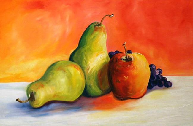 Art: Golden Fruit by Artist Laurie Justus Pace