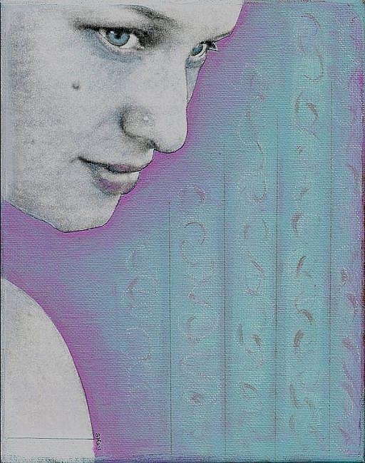 Art: Carissa by Artist Sherry Key