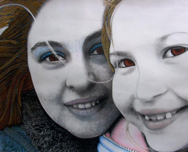 Art: Amanda and Sydney by Artist Sherry Key