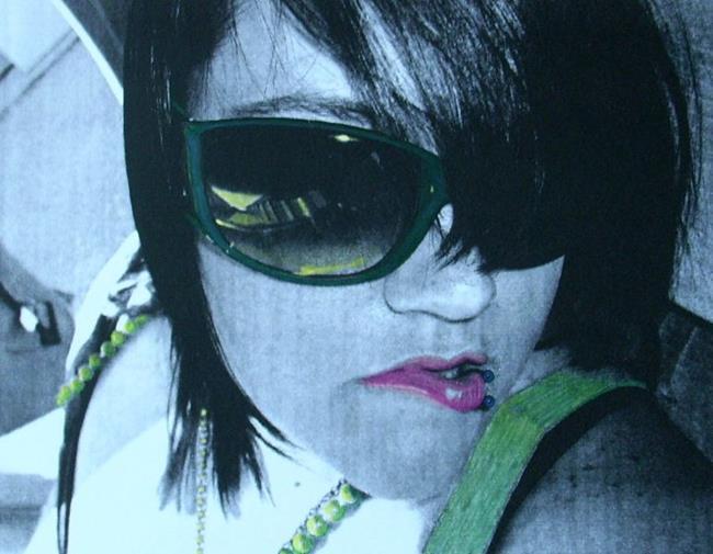Art: BUCKLE UP! by Artist Sherry Key