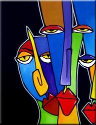 Art: Powerful Trio - F572 by Artist Thomas C. Fedro