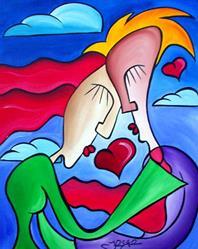 Art: Lovin by Artist Thomas C. Fedro