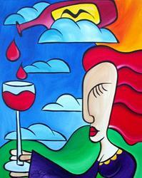 Art: Precipitation by Artist Thomas C. Fedro