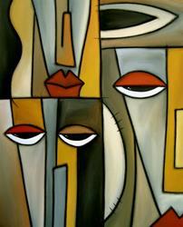 Art: Watch Yourself by Artist Thomas C. Fedro