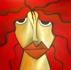 Art: Faces 108 by Artist Thomas C. Fedro