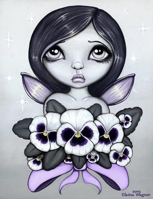 Art: Fae Colours #7 by Artist Elaina Wagner