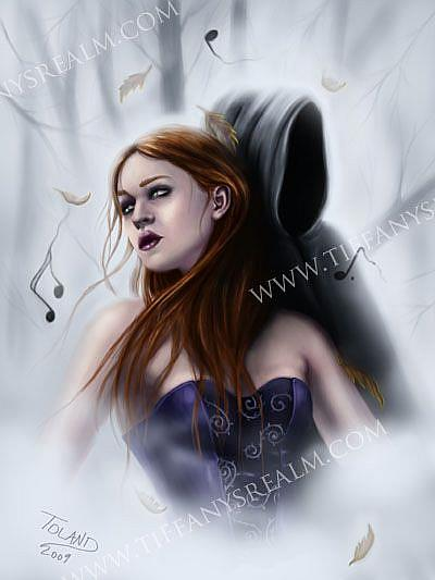 Art: Haunting Melody by Artist Tiffany Toland-Scott