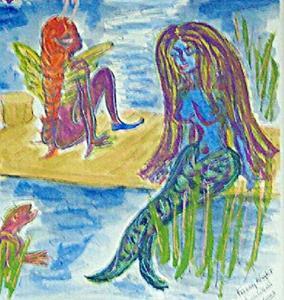 Detail Image for art Faery Halloween Night
