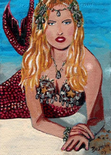 Art: Lillith by Artist Bronwen Skye