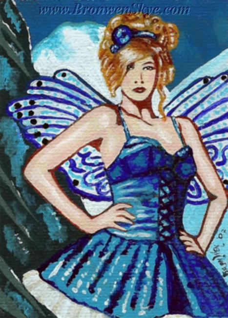 Art: Ice Fairy by Artist Bronwen Skye