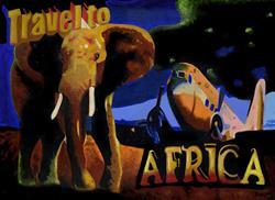 Art: Africa by Artist Bronwen Skye