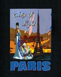 Art: Paris by Artist Bronwen Skye
