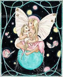 Art: Pure Spirit by Artist Saskia Franken-Saers