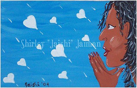 Art: Sending My Love by Artist Shirley Inocenté