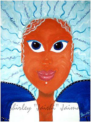 Art: Slyvia by Artist Shirley Inocenté