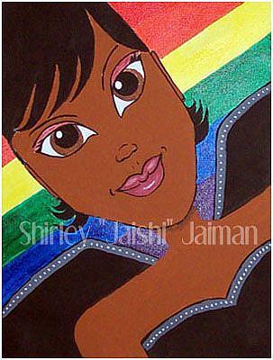 Art: Rainbow Fairy by Artist Shirley Inocenté