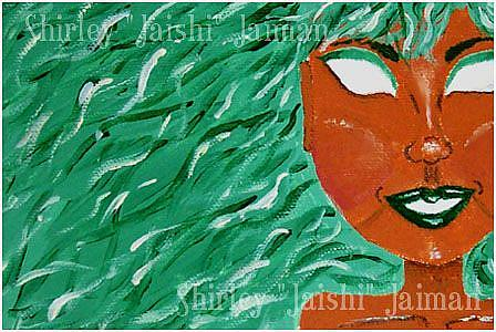 Art: Absinthe by Artist Shirley Inocenté