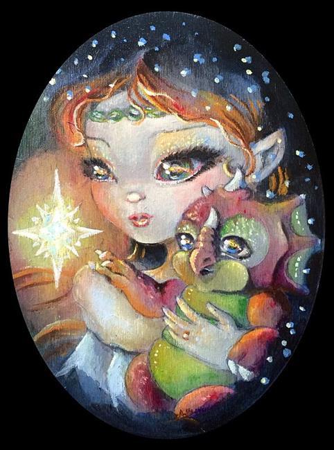 Art: Star Light Star Bright by Artist Saskia Franken-Saers