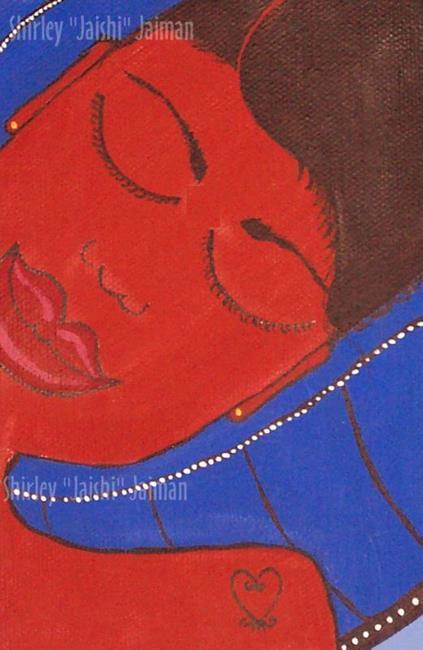 Art: Blue Butterfly by Artist Shirley Inocenté